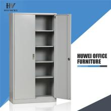2 Swing door file cupboard steel filing cabinet