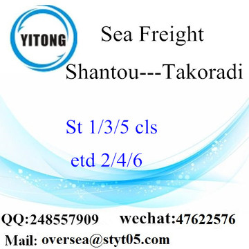 Shantou Port LCL Consolidation To Takoradi