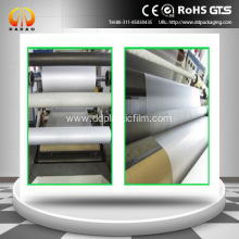 Glue based soft touch bopp film