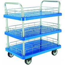 300kgs triple layers Platform Hand Trolley