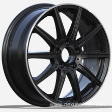 Black Painted Mercedes Replica Wheels