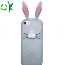 New Fashion Design for for Apple Silicone Case 6S Custom Luxury Rabbit Silicone Mobile Case for Iphone8X export to Italy Suppliers