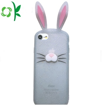 Custom Luxury Rabbit Silicone Mobile Case for Iphone8X