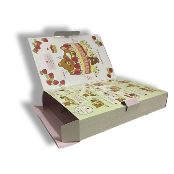 Cupcake packaging boxes with PET window