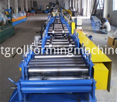 Steel Profile Omega Purlin Cold Roll Forming Machines