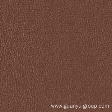 Brown Leather Look Porcelain Floor / Wall Tile