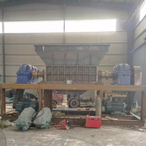 Aluminium scrap crusher shredding machine