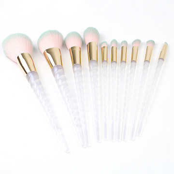 Fashional 10-teiliges Make-up-Pinsel-Set