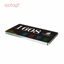 Shenzhen Actop Remote Control Smart hotel door plate
