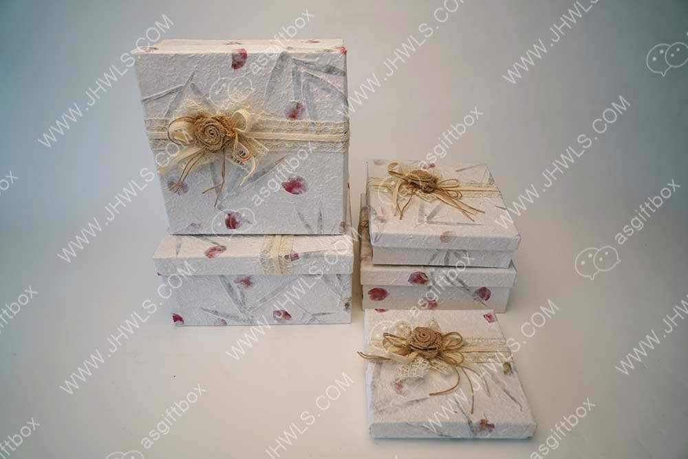 Bouquet gift box