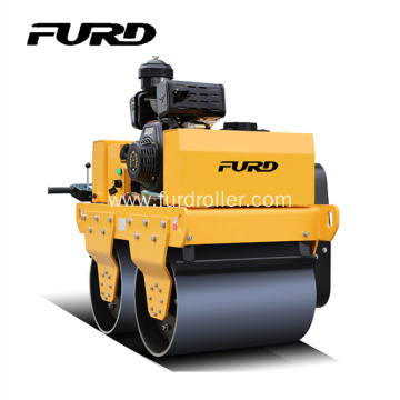 Cheapest Price for Walk-Behind Double Drum Roller Diesel Engine Walk Behind Tandem Drum Vibratory Roller export to Spain Factories