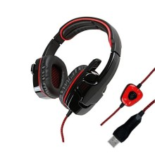 USB Gaming headset with Mic Revolution Volume Control