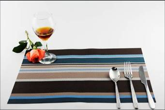 Stripe series of household business dining mat decoration3