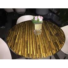 China Manufacturer for China Semi Precious Stone Table And Arts,Backlit Onyx Wall Panels,Translucent Onyx Panels Manufacturer Yellow tiger eye table top supply to India Factories