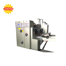 Automatic rotary die cutting machine for corrugated box