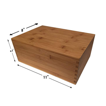Wholesale hot sale wooden box with slide cover