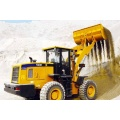Portable fuel transfer pump used wheel loader gear structure