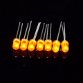 Ultra Bright Amber 5mm Throuh-hole LED