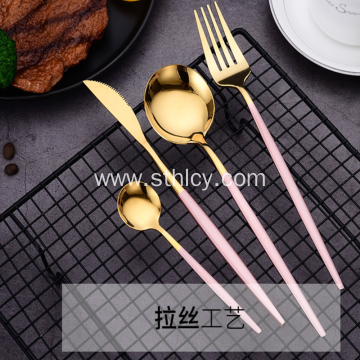 Creative Simple Stainless Steel Knife And Fork