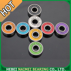 Chrome Steel High Speed Skateboard Bearings