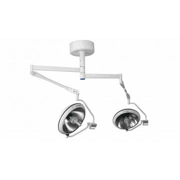 Halogen source double arm lamp
