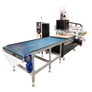 Auto Loading And Unloading CNC Router