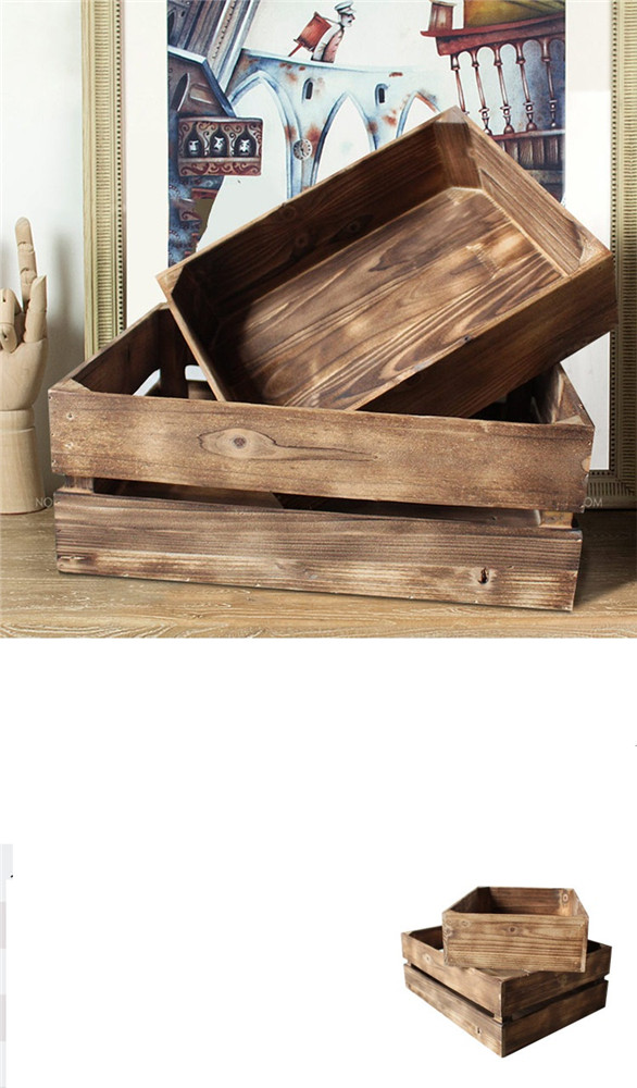 DIY wooden storage box