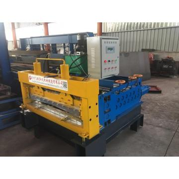 Simple Sheet Levelling/flatting cutting roll forming machine