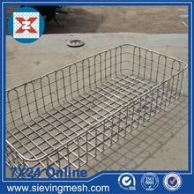 Factory Supplier for Metal Wire Baskets Fine Welded Storage Basket export to Pakistan Manufacturer