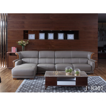 High Quality for Soft Leather Sofa Comfy Modern Leather Sectional supply to Poland Exporter