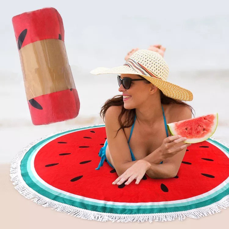 beach towel watermelon
