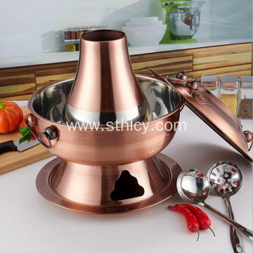 Thick Stainless Steel Charcoal Hot Pot