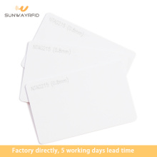 Best Price on for China RFID White Card,RFID Membership Card,RFID Read Write Card Supplier Thermal printable NTAG215 RFID Card supply to Gambia Factories
