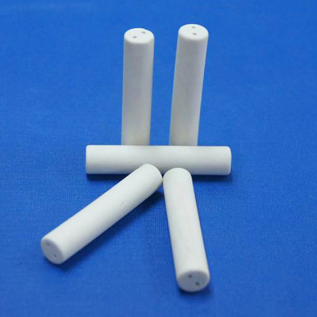 Double holes ceramic tube