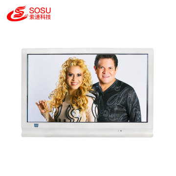 Transparent lcd touch screen for showcase real product