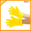 Anti-dust non-toxic non-stick colorful silicone gloves for cooking