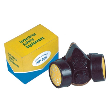Chemical Gas Mask Respirator with Double Filter