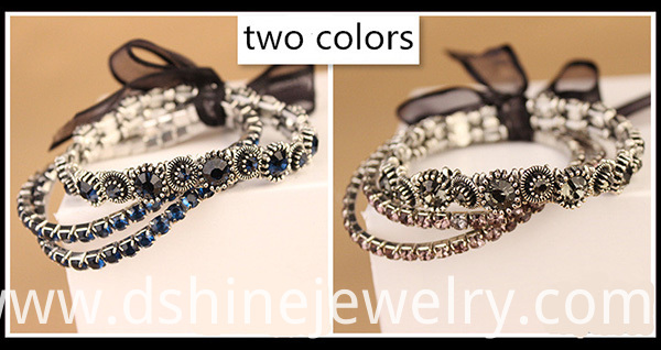 Shiny Rhinestone Band