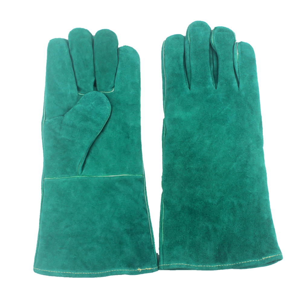 Leather Barbecue Gloves