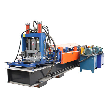 High Speed C/Z Profile Cold Roll Forming Machine