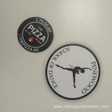 Outdoor use circle  shaped Magnet car sticker