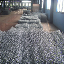 China OEM for  Galfan Woven Gabion for Flood bank netting cage mesh export to United Kingdom Manufacturers