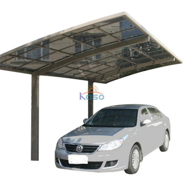 Metal Folding Polycarbonate Double Car Canopy