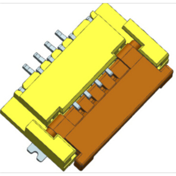 0.5mm FPC SMT Right angle bottom contact connector