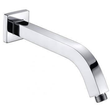 Brass Square Curves Shower Arm