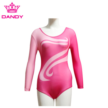 Long Sleeve Custom Leotard Children for Practice