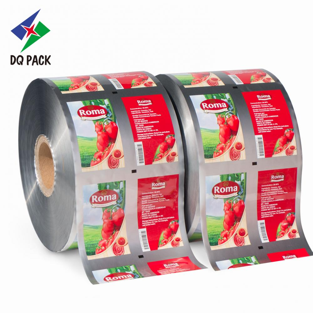 Flexible packaging roll stock for food packaging