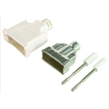 Discount Price for Dvi Female Connector Black / white DVI Tin plate Connector export to Spain Exporter