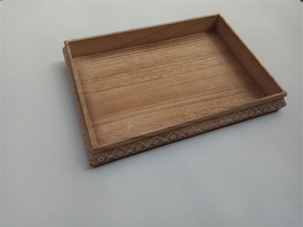 natural solid wood plate