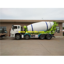 SINOTRUK 12 Wheel Concrete Ready Mix Trucks